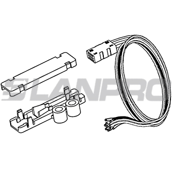 lanpro connect and f et Wire Swivel the lp f2103136121bk is a type 3 fan out kit for round tube fiber cable with